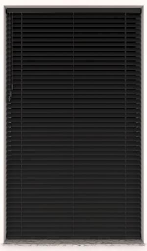 Plain wood 65mm Black